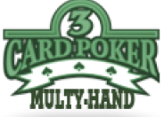 3 Card Multi-Hand Poker Gold logo