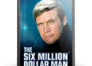 The Six Million Dollar Man logo
