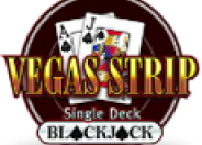 Vegas Strip Single Deck Blackjack logo