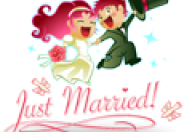Just Married logo