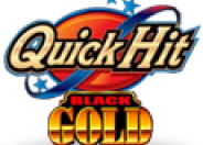 Quick Hit Black Gold logo