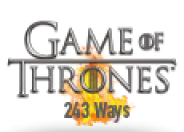 Game of Thrones - 243 Ways logo
