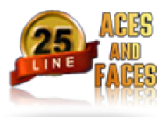 25 line Aces and Faces logo