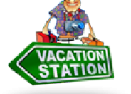 Vacation Station Slot logo