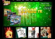 7Spins Casino Home Page