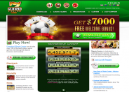 7Reels Casino Home Page